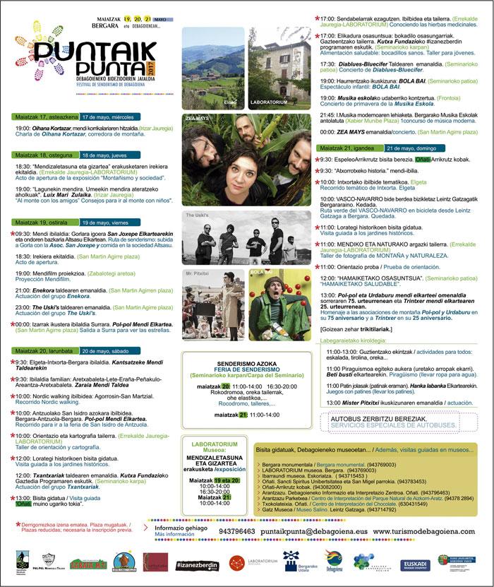 Programa 2017 PuntaikPunta